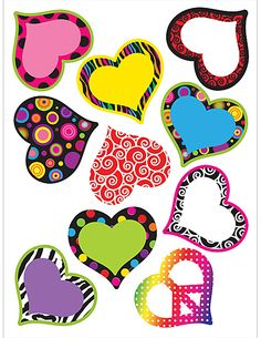Fancy Hearts Accents