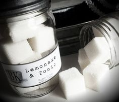 Black Kettle Soap Company LEMONADE & TONIC Sugar Scrub Cubes