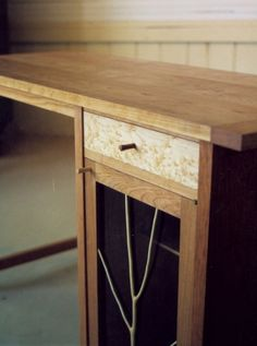 writing desk by chris ericson member of the guild of vermont furniture makers birch office furniture