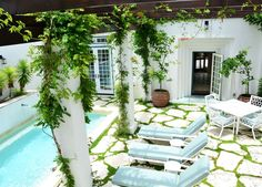 Alys Beach Vacation Rental - VRBO 205462 - 3 BR Beaches of South Walton House in FL, Moroccan Courtyard Home with Private Pool and Detached ...