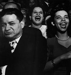An enthusiastic audience at a concert in New York's Harlem. (Photo by Weegee (Arthur Fellig)/International Center of Photography/Getty Images)