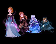 "Mariana Avila  - - ""So I'll walk through this night, stumbling blindly toward the light . Humour Disney, Disney Memes, Disney Cartoons, Film Disney, Disney Frozen 2, Disney Magic, Disney Disney, Disney Kunst, Arte Disney"