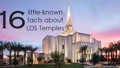 16 Little-Known Facts About LDS Temples