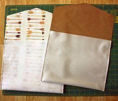 Fort Worth Fabric Studio: Envelope Clutch Tutorial