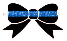 Southern Charm Designs - Thin Blue Line Bow Decal, $7.00 (http://www.shopsoutherncharmdesigns.com/thin-blue-line-bow-decal/)