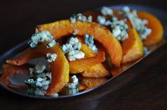 Caramelized Buttternut Squash Wedges with Sage Hazelnut Pesto - does that sound good or what!  And the photo is nice too! Find the recipe at Food52.com