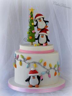 'Tis the season to be jolly!!! - Cake by Marlene - CakeHeaven
