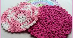 Sun Catcher Dish Cloth These dainty, bright, detailed dish cloths work up quickly and beautifully when using both acrylic or ...