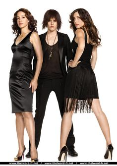The L Word : the 3 hottest ladies of the L word together ! HELLOW ! . . . .there's room in this world for all of us . .