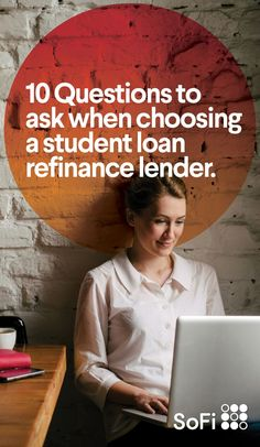 Refinancing your student loans can be a great way to pay off your debt more quickly. Read our tips on how to choose the best online private refinance lender to help you save money and get ahead. Student Loan Payment, Federal Student Loans, Loan Repayment Schedule, Student Loan Consolidation, Loan Money, Questions To Ask, Money Management, The Borrowers, Tips
