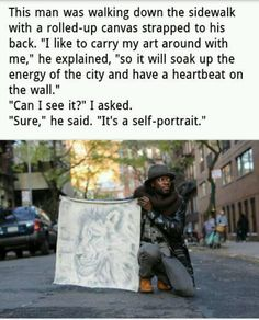 Humans of New York. I like this