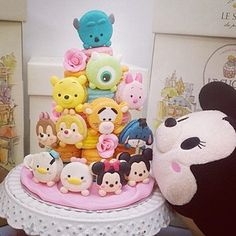 tsum tsum cake by le sucre <3