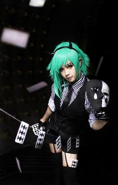 Gumi- Pokerface cosplay