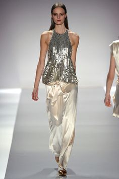 sequins and satin from Jill Stuart  (pin via style.com)