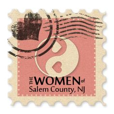 Final Version: Stamp will be new logo for www.SalemCountyWoman.com