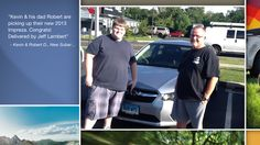 Congratulations Kevin and Robert Drenzek!  A heartfelt thank you for the purchase of your new Subaru from all of us at Premier Subaru.   We're proud to have you as part of the Subaru Family.