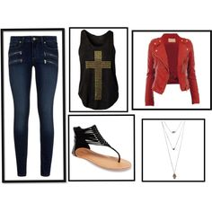 fashion by abidois on Polyvore featuring Paige Denim and Wet Seal