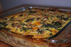 Whole30: A Month of Paleo Recipes: Breakfast Casserole (Cheese Making Molds)