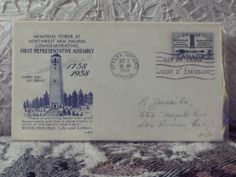 http://ajunkeeshoppe.blogspot.com/  First Day Issue / Cover - Stamp - Representative Assembly - Canada 1958 8ozP725B4HP1190