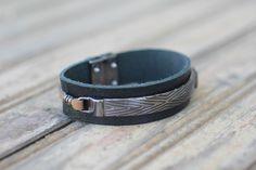 Bracelets, Leather, Jewelry, Fashion, Men's Wristbands, Men's, Moda, Jewlery, Bijoux