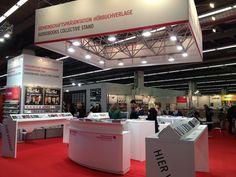 Anlaufstelle Gemeinschaftspräsentation der Hörbuchverlage auf der Frankfurter Buchmesse