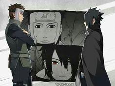 Yamato and Sasuke