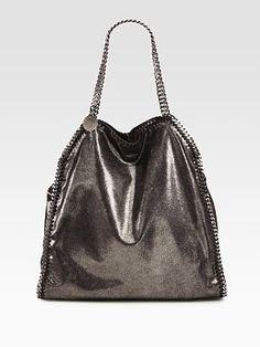 15735ed9e6fab Stella McCartney - Falabella Metallic Shoulder Bag