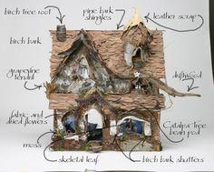 make a fairy house!