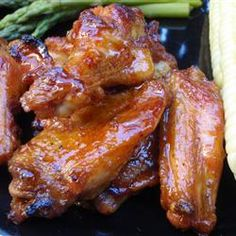 These Detroit style wings are honey glazed as they grill and tossed with a sweet and spicy sauce right off the heat. Challenge your friends with more cayenne and hot sauce, or pull back the heat and serve with a blue cheese dressing to calm the fire!