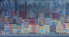 Zhang_Gong_New_York_City_Acrylic_on_canvas_120x220cm_2011