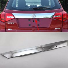 Car Styling ABS Car Modified Dedicated Tailgate Trim Chrome Cover Protection For Suzuki Vitra 2016