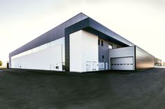 Lamborghini Logistic Center - made with Slimtech collection by Lea Ceramiche