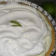 Fake Key Lime Pie -- easy and pretty good. Chill thoroughly.
