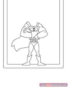 Superhero Preschool, Superhero Classroom, Preschool Crafts, Mandala Coloring Pages, Coloring Book Pages, Superhero Theme Party, Red Ribbon Week, Josi, Vbs Crafts