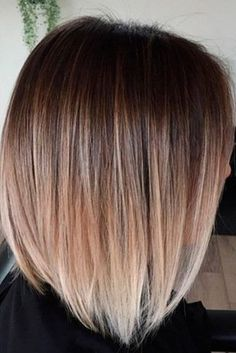 Cool Short Ombre Hair Color Ideas 40