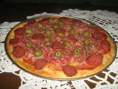 Pizza sa maslinama