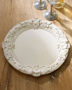 Baroque Charger Plate - Horchow