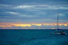 Ein schöner Ort für Sonnenuntergänge - Coral Bay Harbour - Ningaloo Reef - Western Australia