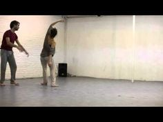 Contact Improvisation - practice time - YouTube