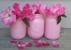 Mason Jar Flower Vases