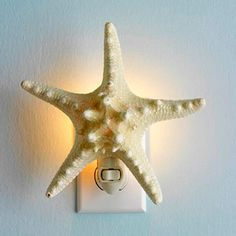 Starfish Nightlight - This would be cute for a beach-theme
