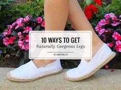 DIY Ingrown Hair Scrub + 10 Ways to Get Naturally Gorgeous Legs