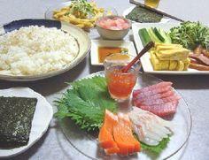 手巻き寿司セット Temaki-sushi set