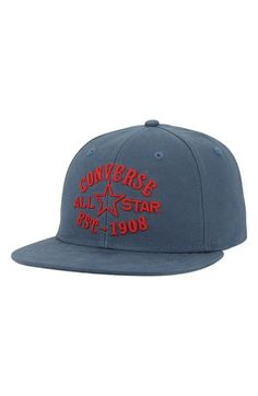 Men's Converse Snapback Cap - Blue
