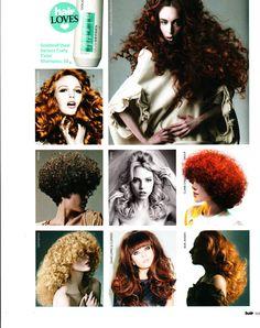As seen in Hair Magazine....