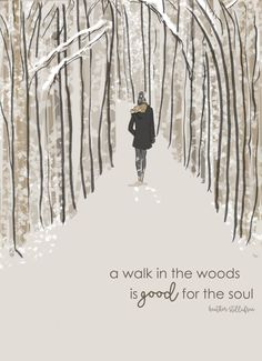 Wall Art for Women A Walk in the Woods is by RoseHillDesignStudio