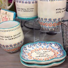 Found very cute and inspiring housewares at Mardel!