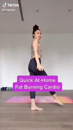 Cardio Workout At Home, Gym Workout Videos, Gym Workout For Beginners, Abs Workout Routines, At Home Workouts, Plank Workout, Summer Body Workouts, Fun Workouts, Fat Burning Cardio