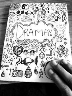 My drama notebook
