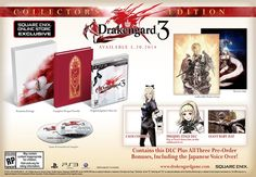Drakengard 3 Spreads Sisterly Love This May, Collector's Edition and Pre-order Incentives Announced
